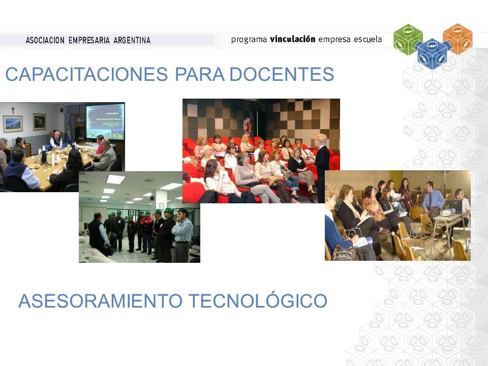 CAPACITACIONES PARA DOCENTES ASESORAMIENTO TECNOLÓGICO