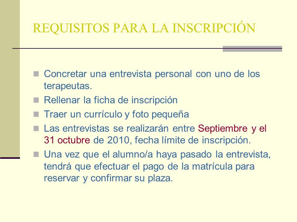 TITULACIÓN Se entregará un certificado de asistencia por las horas de formación. En caso de cumplir todos los requisitos de asistencia, trabajos reali