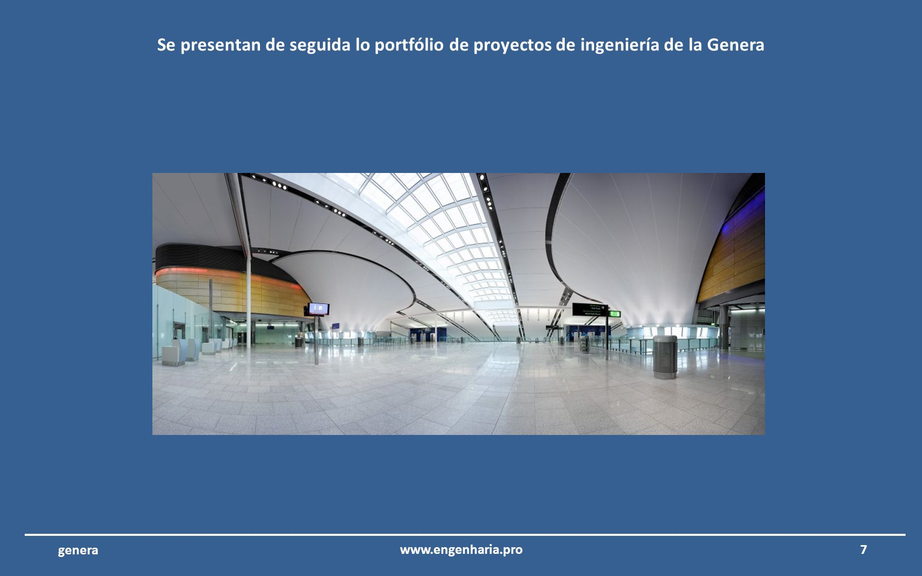 17www.engenharia.pro genera Centro de difusión RTP – Lisboa – Portugal Consultoría y revisión de proyectos de ingeniería del centro de difusión internacional de Radio y Televisión de Portugal.
