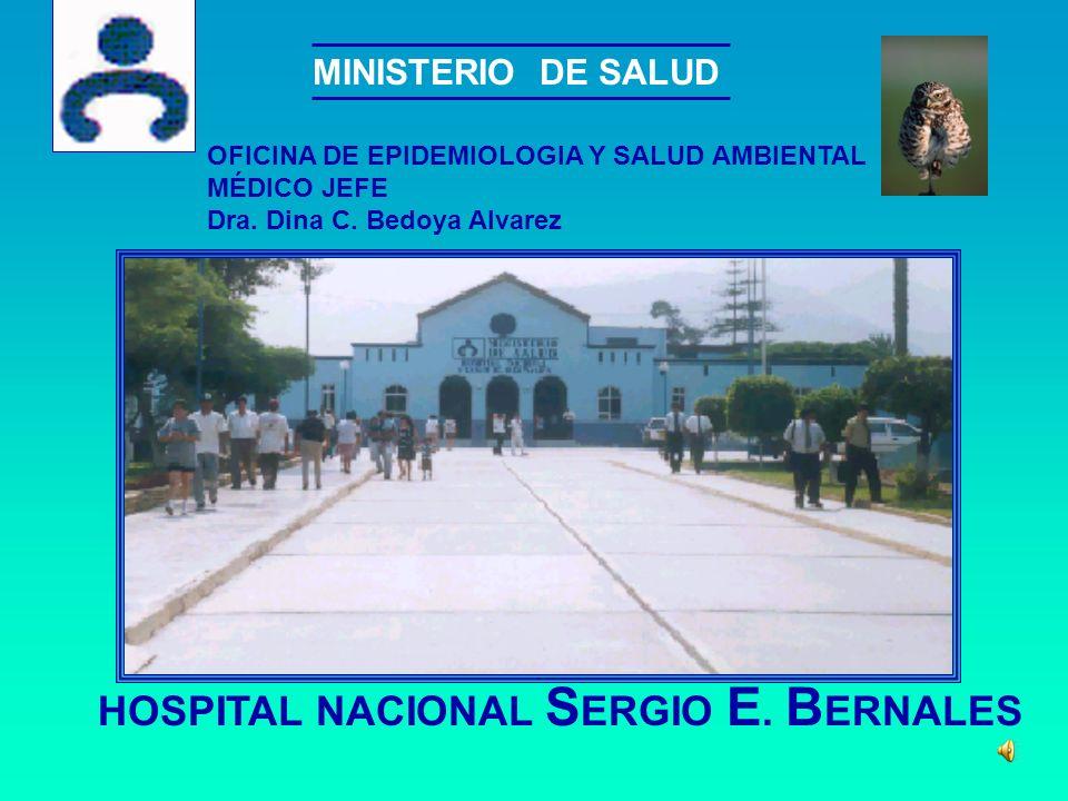 MINISTERIO DE SALUD HOSPITAL NACIONAL S ERGIO E.