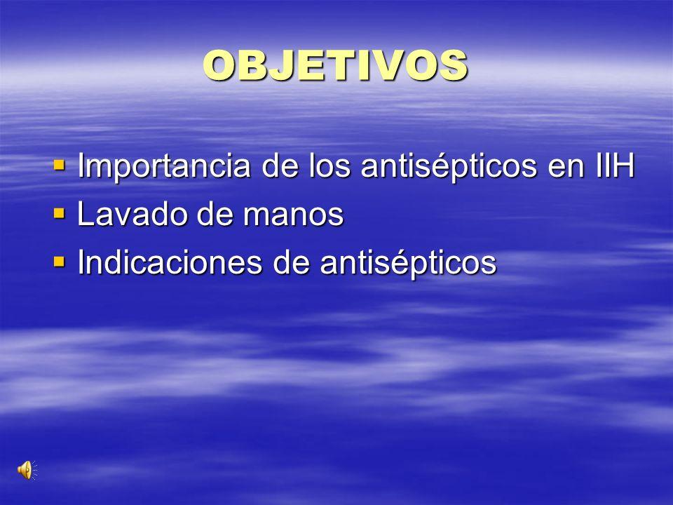 ACTUALIZACIONES EN ANTISEPTICOS ANTISEPTICOS Y LAVADO DE MANOS