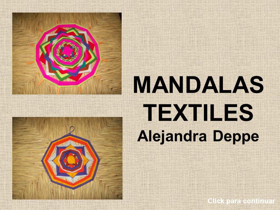 MANDALAS TEXTILES Alejandra Deppe Click para continuar