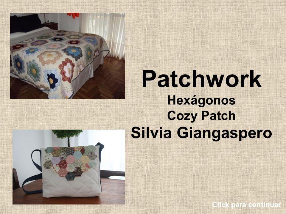 Patchwork Hexágonos Cozy Patch Silvia Giangaspero Click para continuar