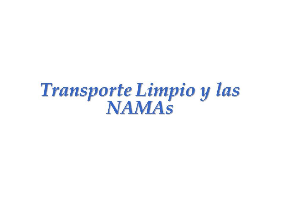 Transporte Limpio y las NAMAs