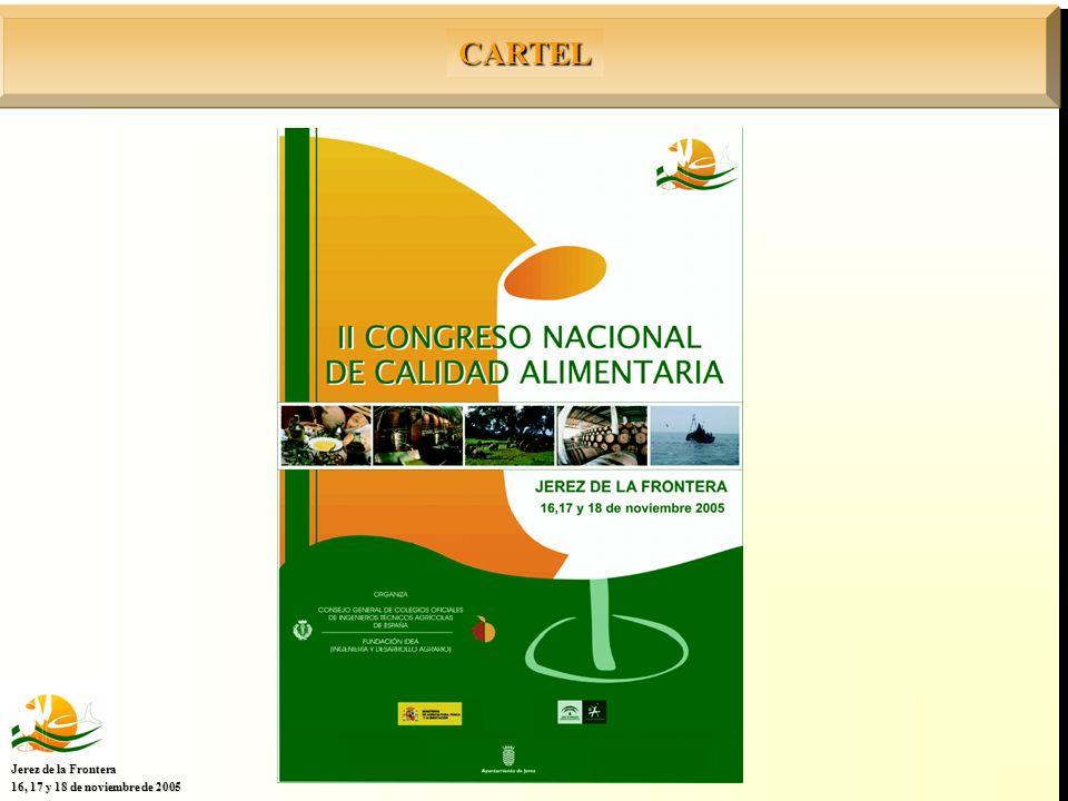 CARTEL Jerez de la Frontera 16, 17 y 18 de noviembre de 2005