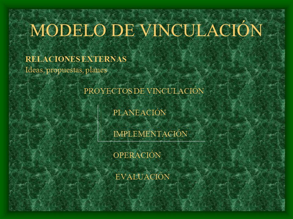 PROGRAMA EDUCATIVO PROPÓSITO: EDUCACIÓN PERTINENTE EXTENSIÓN VINCULACIÓN INVESTIGACIÓN