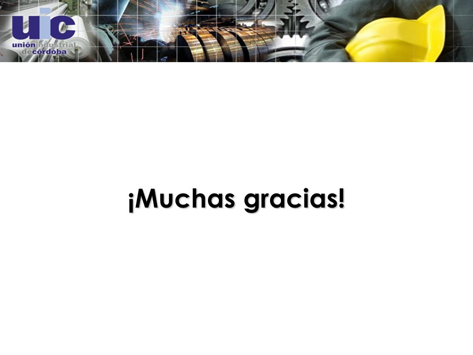 ¡Muchas gracias!