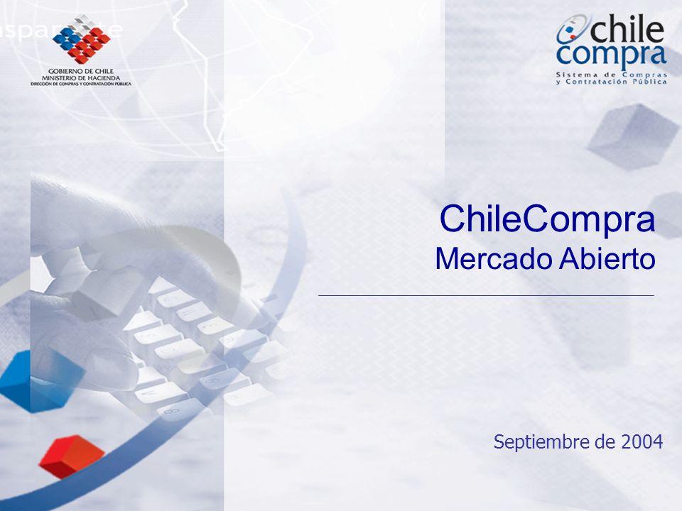 Septiembre de 2004 ChileCompra Mercado Abierto