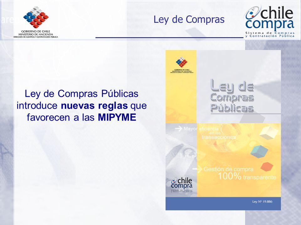Ley de Compras Públicas introduce nuevas reglas que favorecen a las MIPYME Ley de Compras