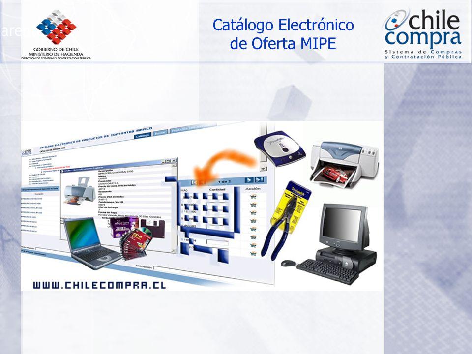 Catálogo Electrónico de Oferta MIPE