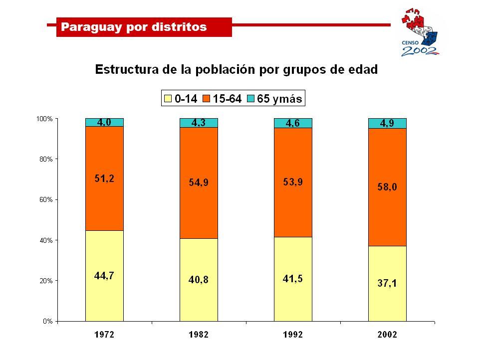 Paraguay por distritos