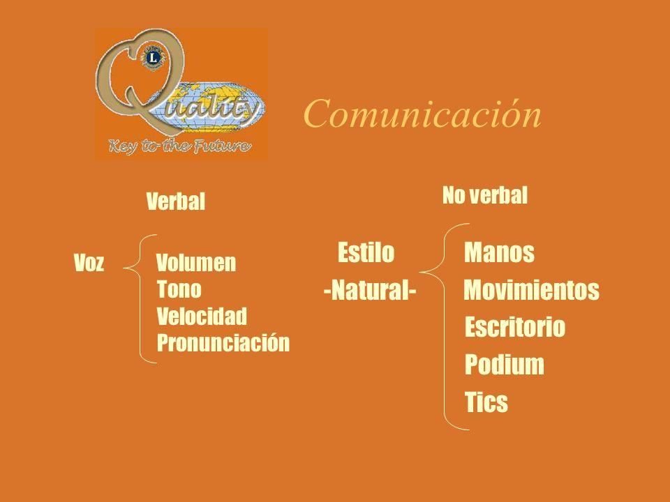Autoridad ejecutiva y moral El EXPOSITOR es dueño del tiempo, espacio y atención de su entorno (auditorio).