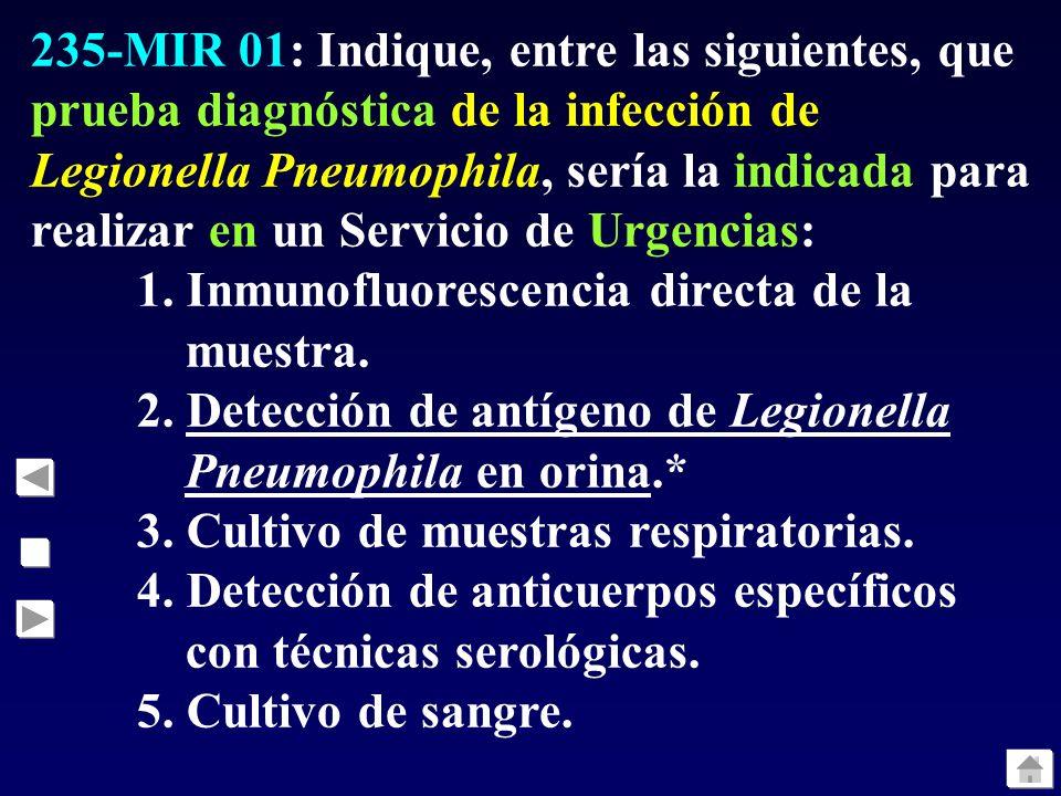 234-MIR 01: ¿Cuál de los siguientes componentes de la estructura de los virus gripales es el principal responsable de su infecciosidad?: 1. ARN polime