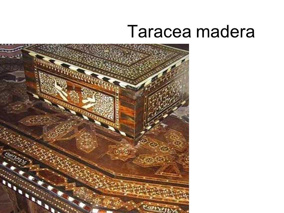4.- Otras técnicas tradicionales Vidriera, tejidos, etc.