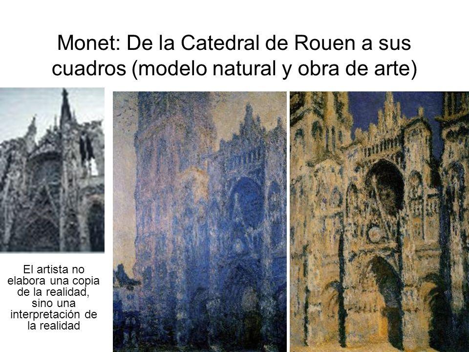 Bocetos y obra acabada Es muy frecuente que antes de realizar la obra definitiva, se hagan uno o más bocetos, como en estas imágenes de Miguel Ángel