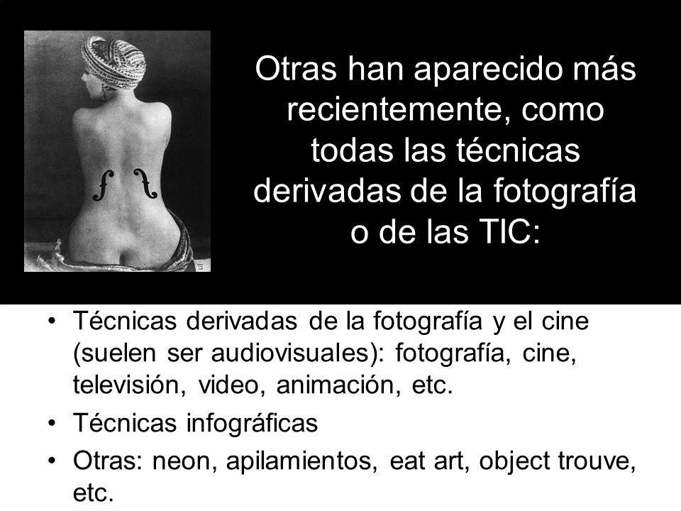 Además hay modos de expresión diferentes a los anteriores, que no están basados en la creación de objetos ni imágenes Expresión con el cuerpo Creación de situaciones: happening, performance, etc.