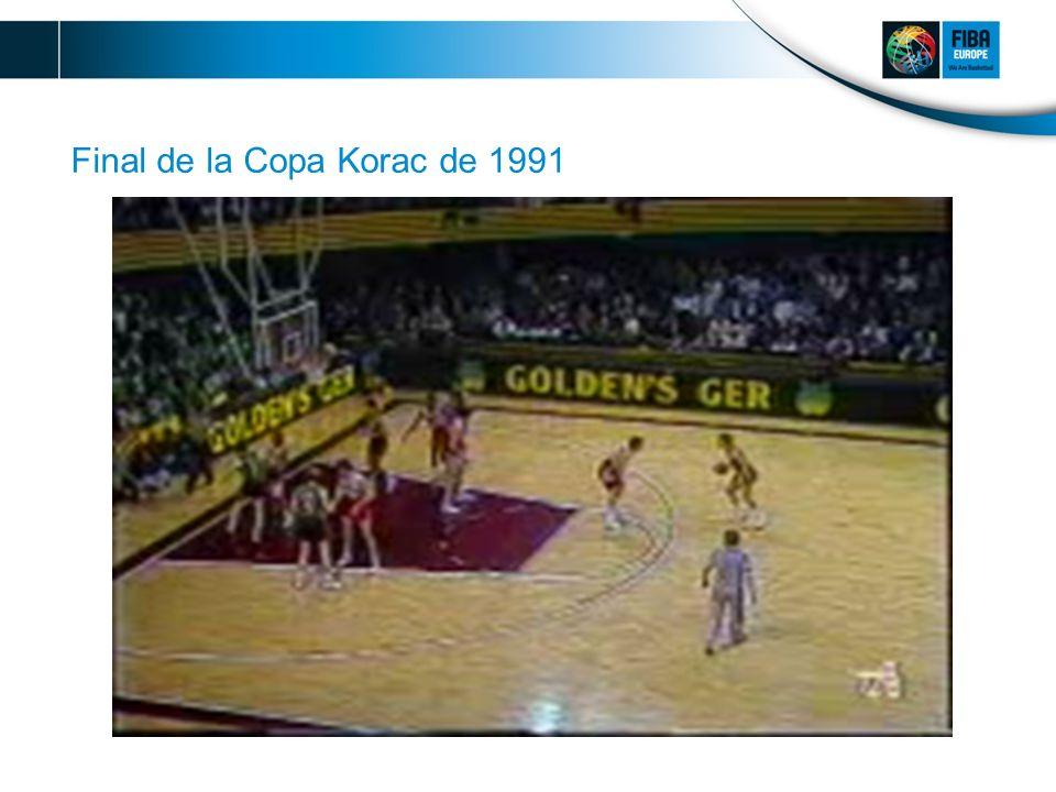 Final de la Copa Korac de 1991