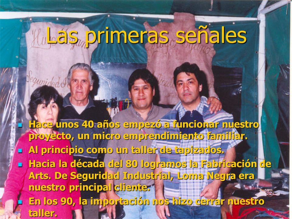 Julio y Hugo Moyano Artesanías y Tapizados en Cuero. Micro emprendimiento familiar