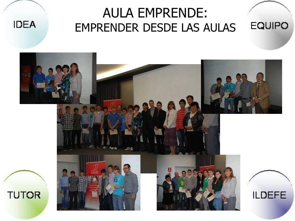 AULA EMPRENDE: EMPRENDER DESDE LAS AULAS 1. Presentación de la idea 2. Calidad del proyecto 3. Viabilidad económica, técnica y comercial 4. Originalid