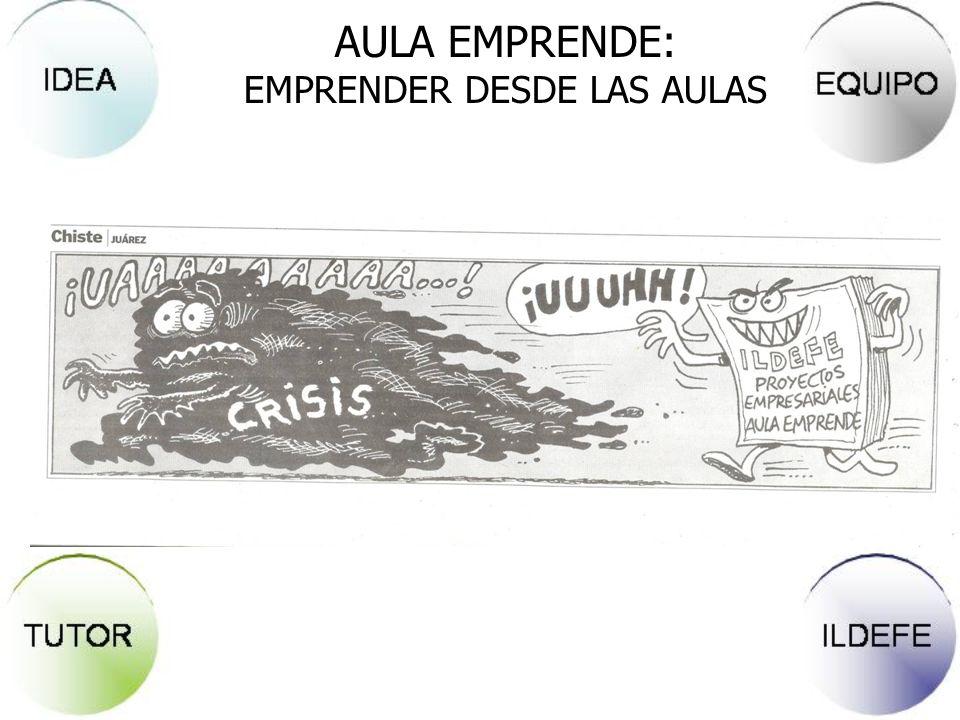 AULA EMPRENDE: EMPRENDER DESDE LAS AULAS