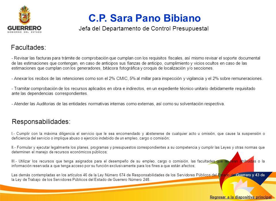 Regresar a la diapositiva principal C.P.