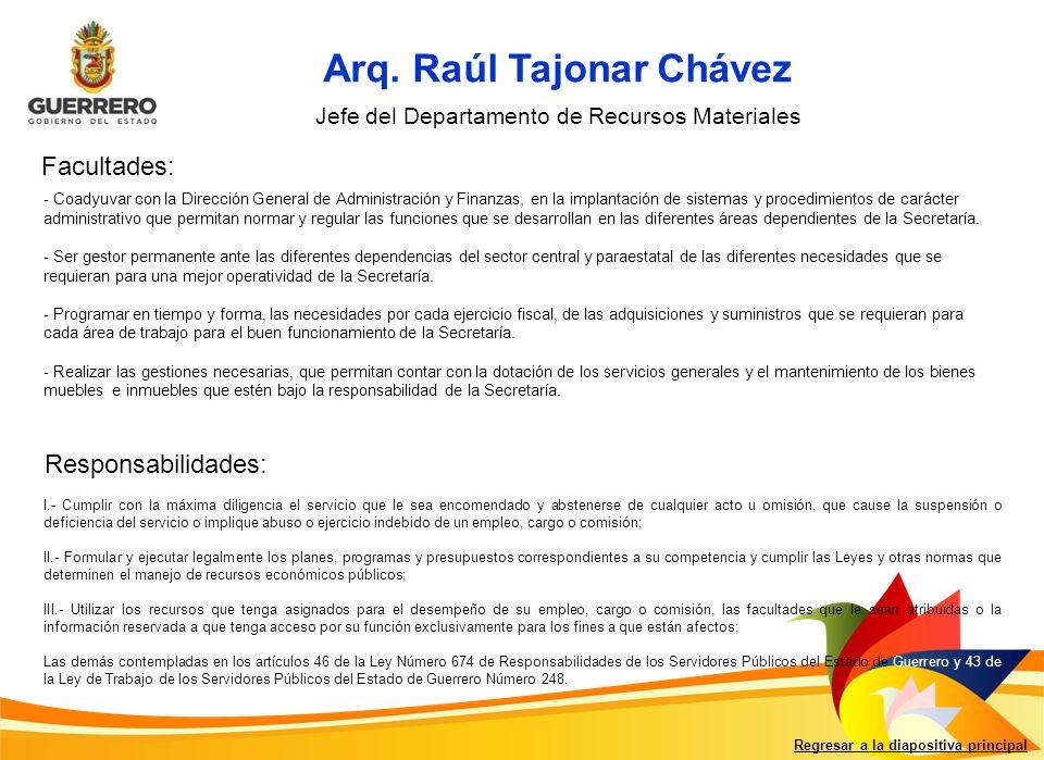Regresar a la diapositiva principal Arq.
