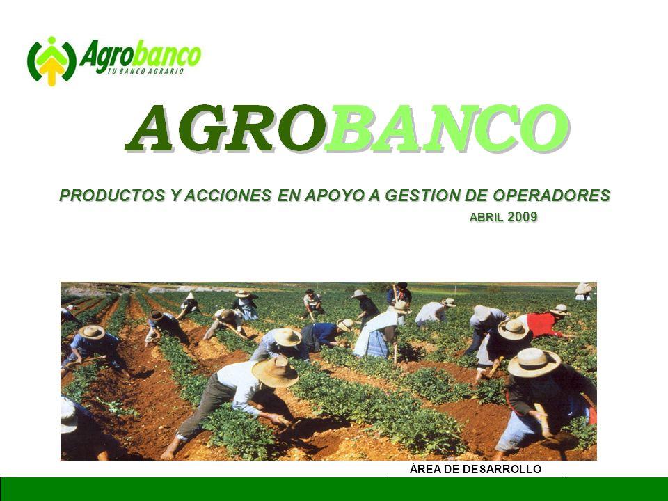 GERENCIA DE ADMINISTRACION Y FINANZAS Simulador ¿En cuanto me beneficio con un crédito de Agrobanco.