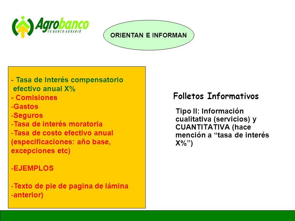 GERENCIA DE ADMINISTRACION Y FINANZAS - Tasa de Interés compensatorio efectivo anual X% - Comisiones -Gastos -Seguros -Tasa de interés moratoria -Tasa