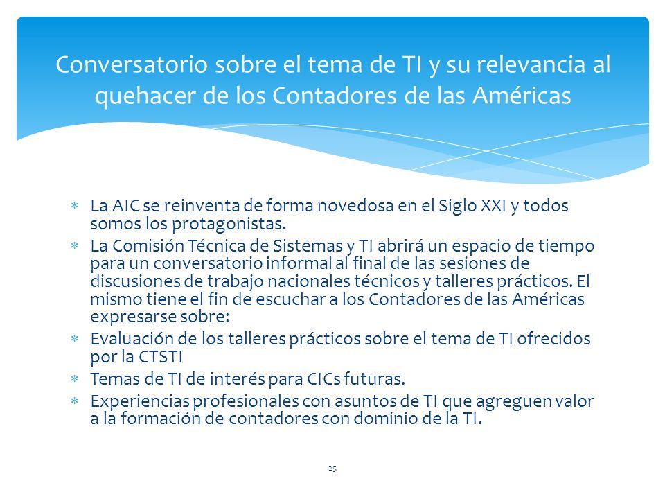 La AIC se reinventa de forma novedosa en el Siglo XXI y todos somos los protagonistas.