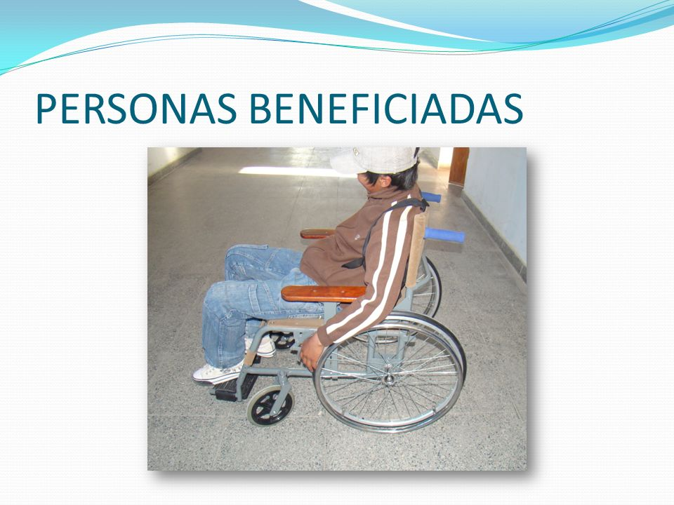 PERSONAS BENEFICIADAS