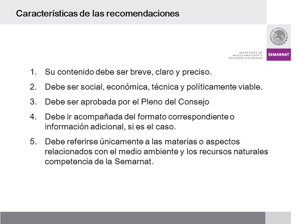 PROCESO DE RENOVACIÓN DE LOS CCDS (2005 – 2007) 1.Su contenido debe ser breve, claro y preciso. 2.Debe ser social, económica, técnica y políticamente