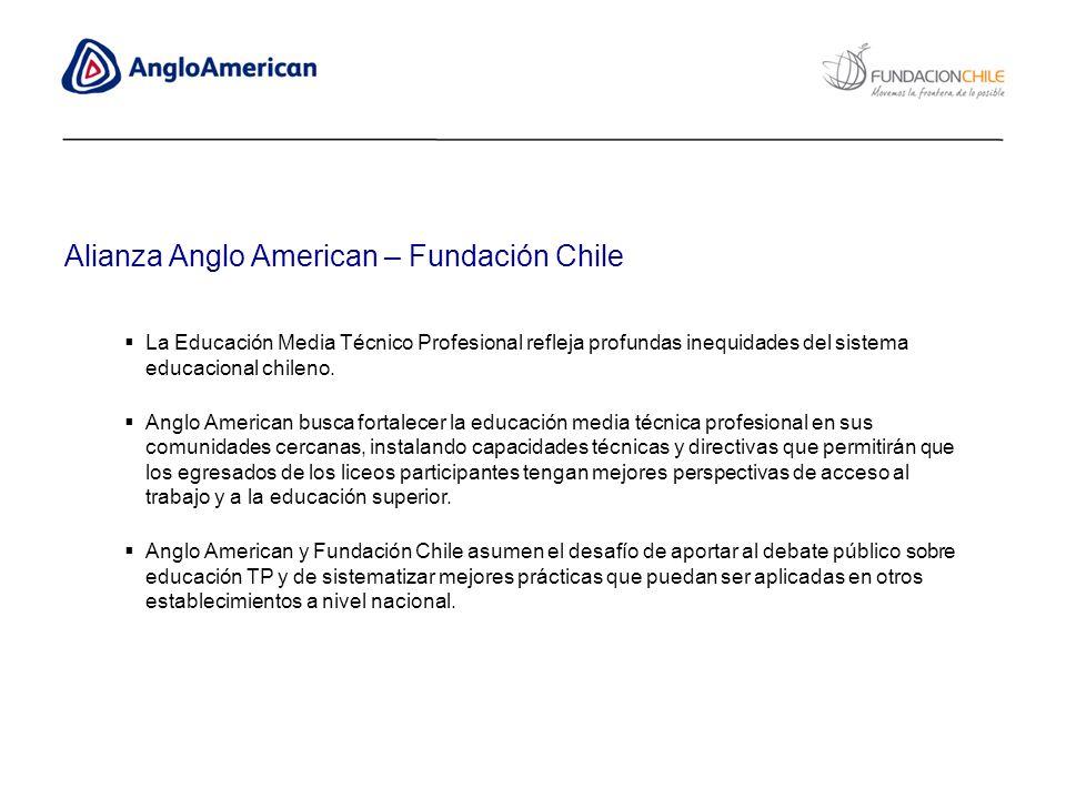La Educación Media Técnico Profesional refleja profundas inequidades del sistema educacional chileno. Anglo American busca fortalecer la educación med
