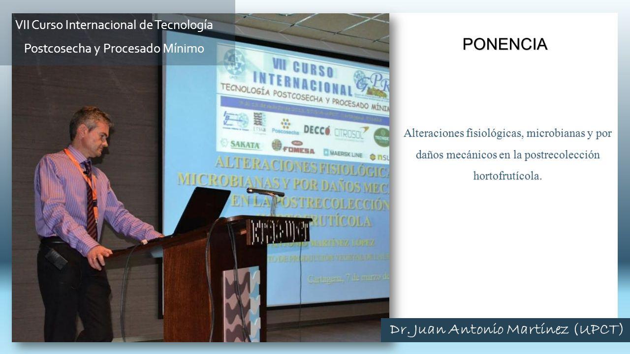 Alteraciones fisiológicas, microbianas y por daños mecánicos en la postrecolección hortofrutícola.