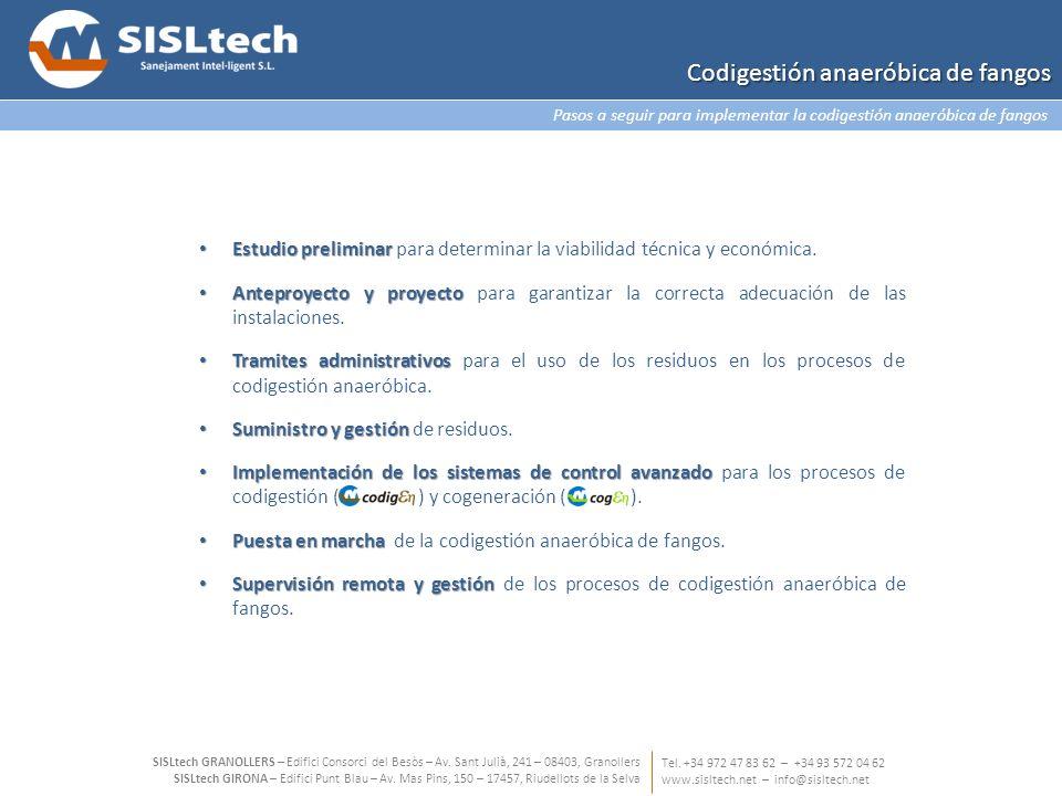 Estudio preliminar Estudio preliminar para determinar la viabilidad técnica y económica. Anteproyecto y proyecto Anteproyecto y proyecto para garantiz