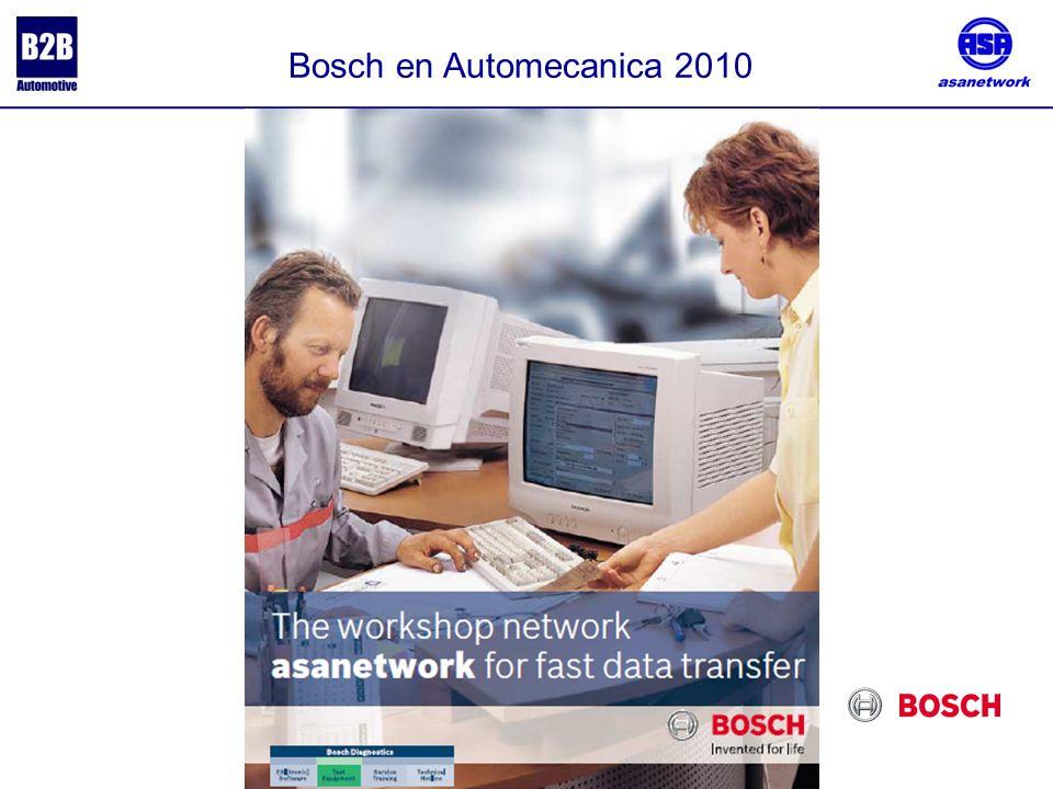 Bosch en Automecanica 2010.