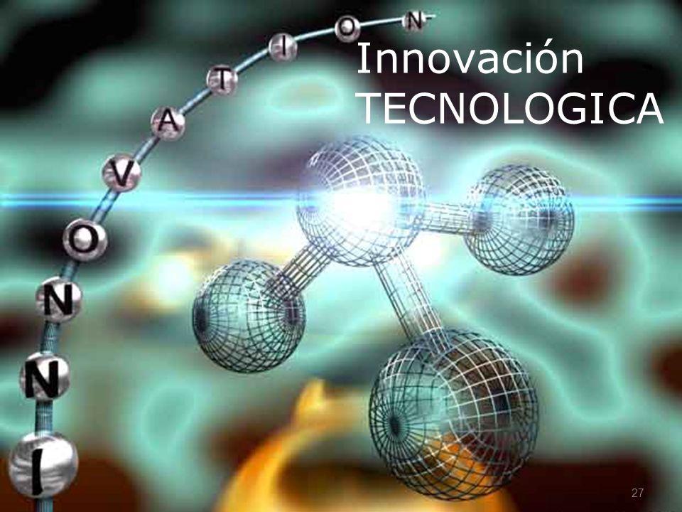 27 Innovación TECNOLOGICA