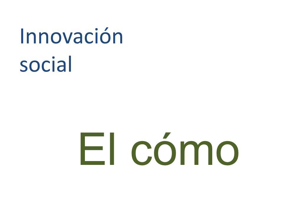 Innovación social El cómo