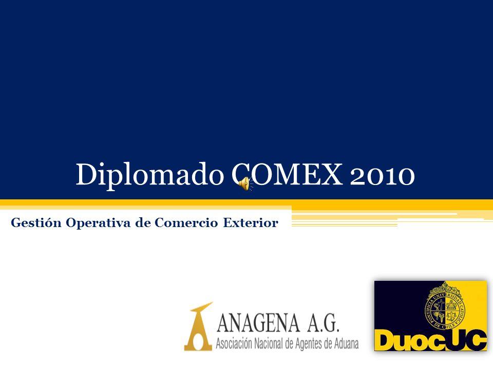 Diplomado COMEX 2010 Gestión Operativa de Comercio Exterior