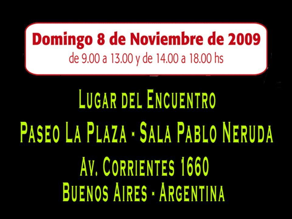 A realizarse en INPOAR Av. Rivadavia 6380 Capital Federal Tel: 011 4631-2044