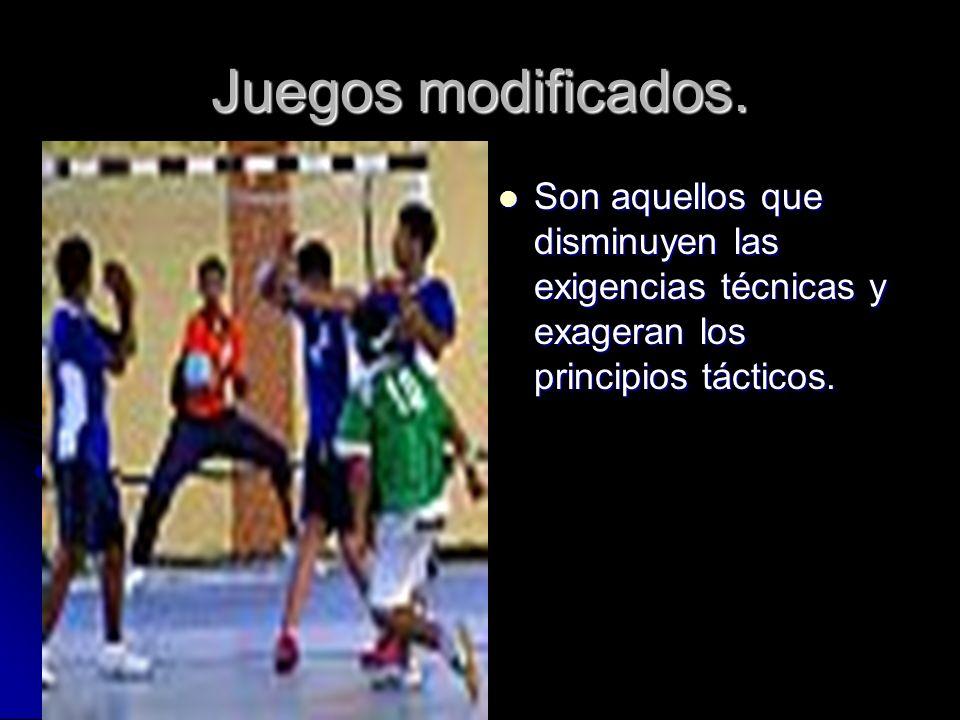 Se aborda a través de las siguientes modalidades didácticas: JUEGOS MODIFICADOS. JUEGOS MODIFICADOS. JUEGOS COOPERATIVOS. JUEGOS COOPERATIVOS. DEPORTE