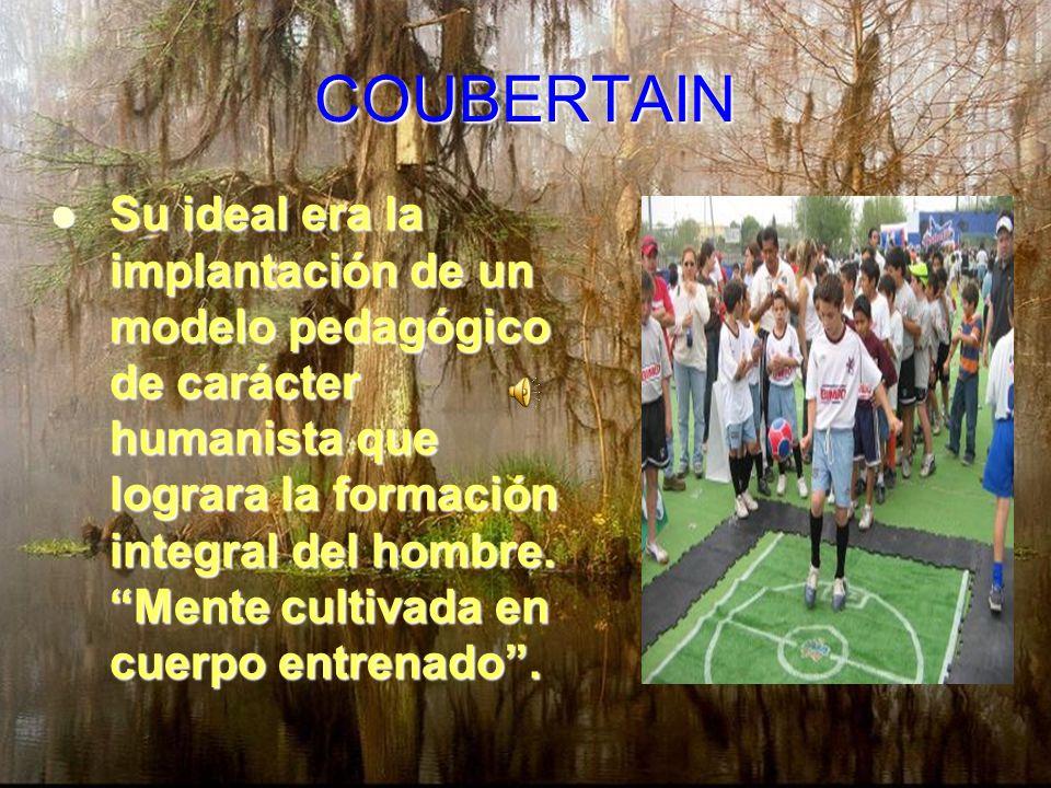 ARNOLD: La práctica deportiva contribuye además del desarrollo corporal a la formación moral. El nacimiento del deporte en la escuela.