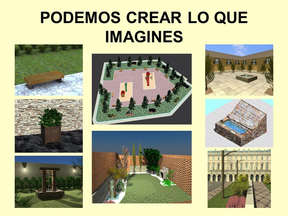 PODEMOS CREAR LO QUE IMAGINES