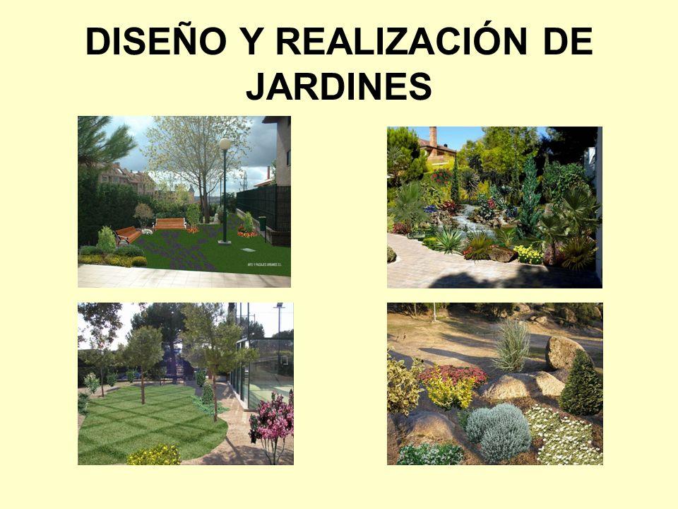 DISEÑO Y REALIZACIÓN DE JARDINES