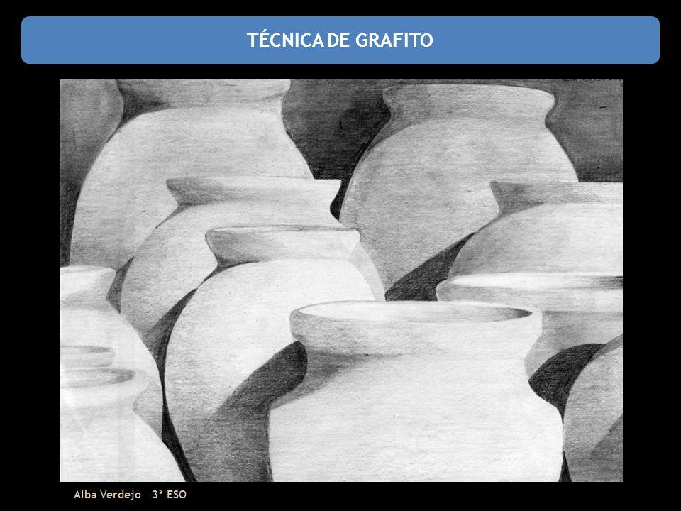 TÉCNICA DE GRAFITO Alba Verdejo 3ª ESO
