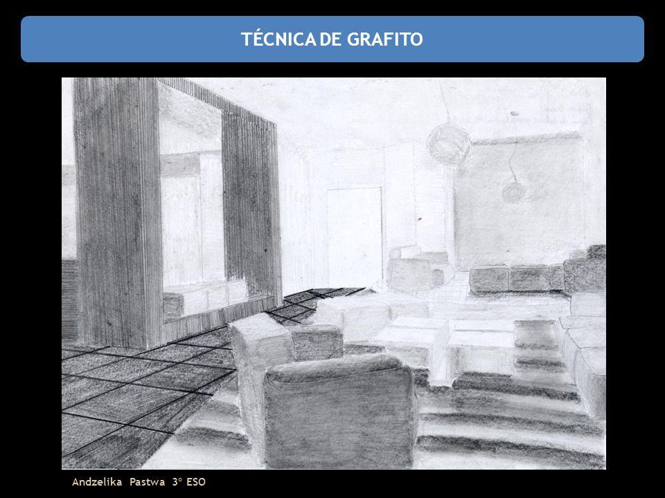 TÉCNICA DE GRAFITO Andzelika Pastwa 3º ESO