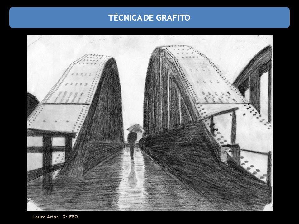 TÉCNICA DE GRAFITO Laura Arias 3º ESO