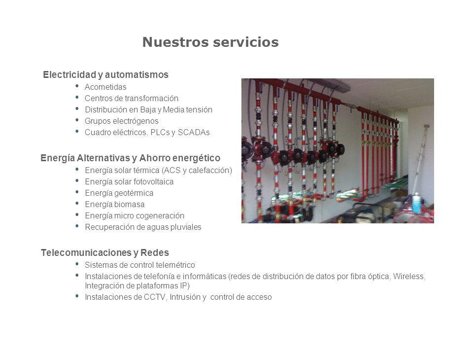 Proyectos realizados Proyectos y obras realizados Gestión y mantenimiento de la primera instalación de micro cogeneración en toda Catalunya.