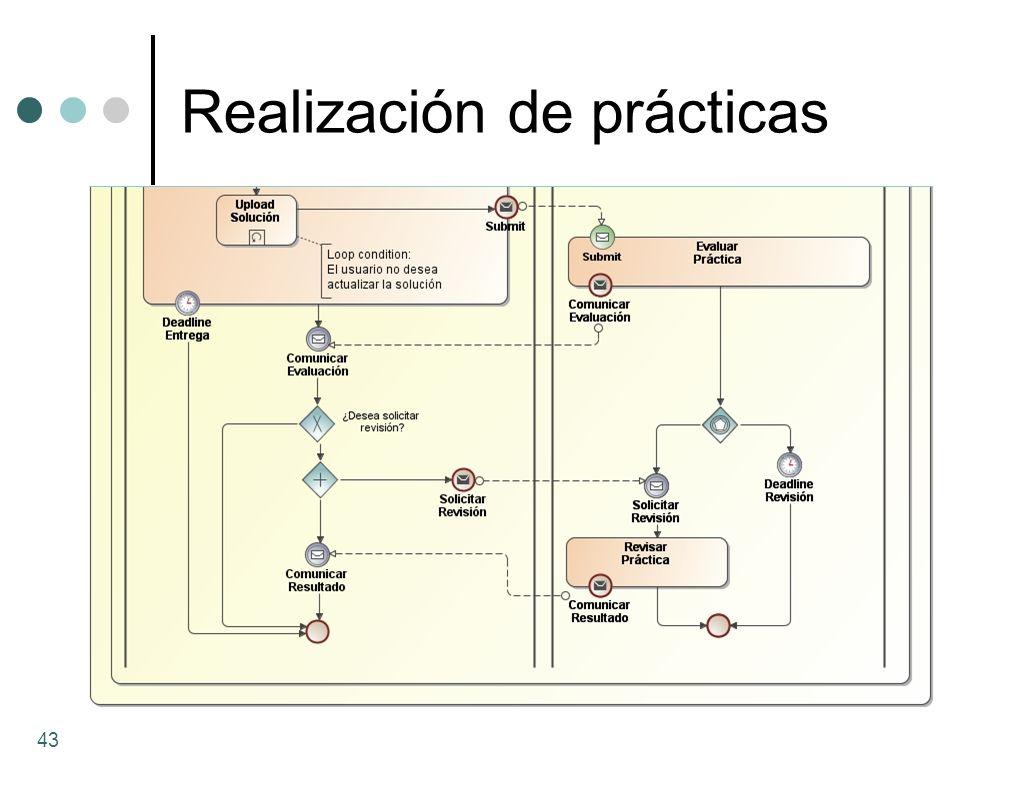 Realización de prácticas 43