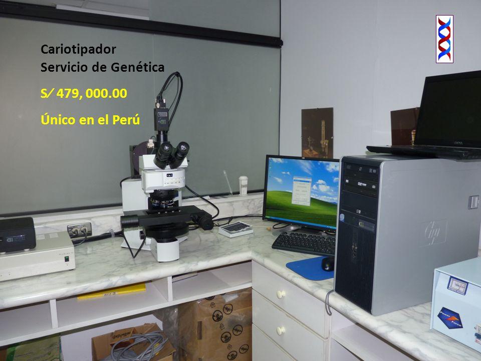 Cariotipador Servicio de Genética S 479, 000.00 Único en el Perú