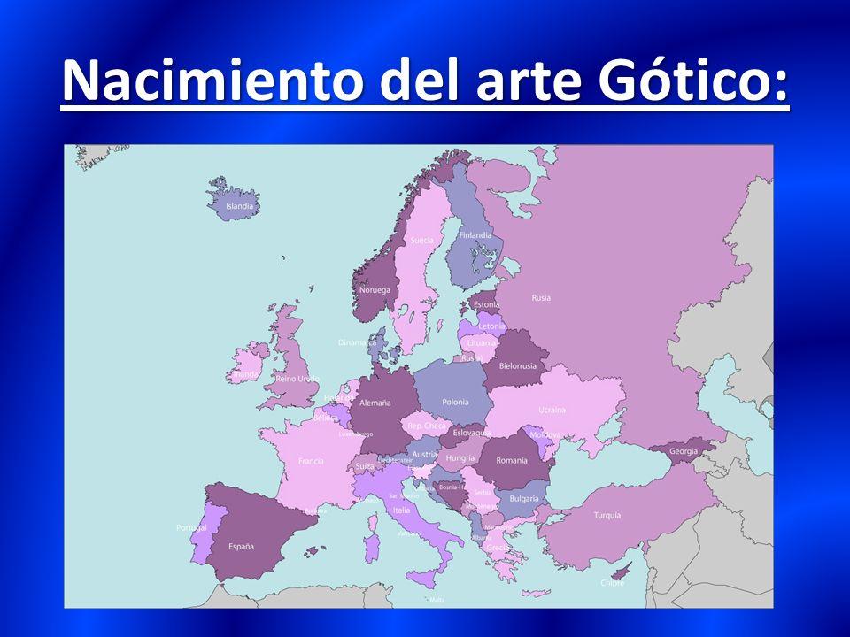 Nacimiento del arte Gótico: